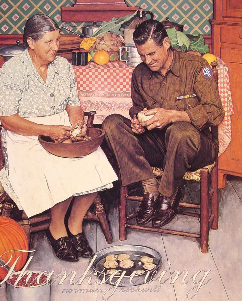 Thanksgiving – Norman Rockwell Again