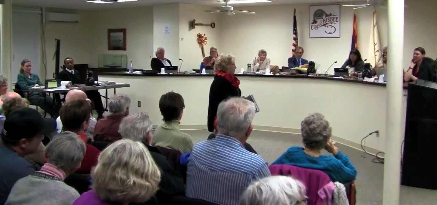 Bisbee Council March 3, 2015