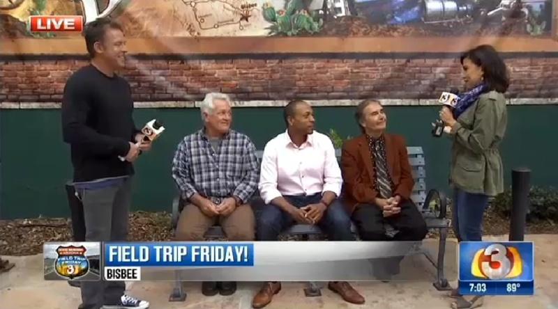 3TV Bisbee Field Trip Friday